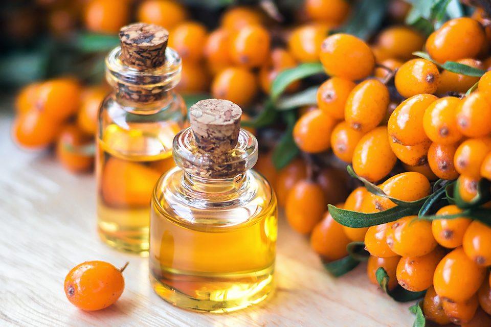 Bricolage : huile corporelle à l'huile de baies d'argousier et à la lavande
